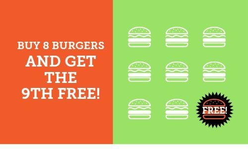 Hamburger Loyalty Card