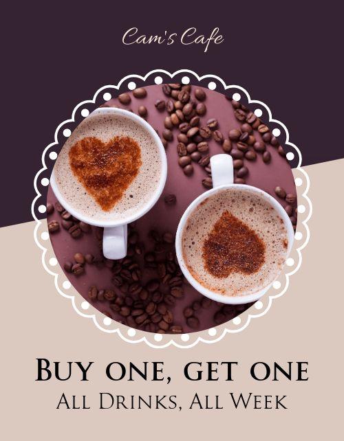 Coffee Specials Flyer