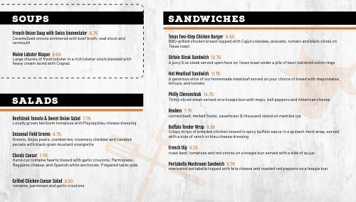 BBQ Sandwiches Digital Menu Board