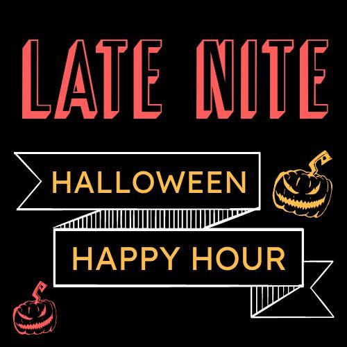 Halloween Happy Hour Instagram Post
