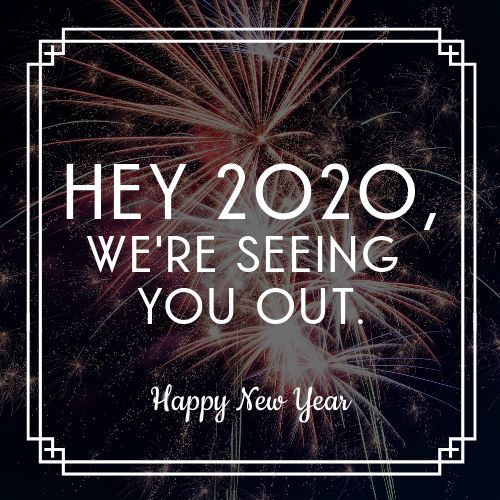 Bye 2020 Instagram Post