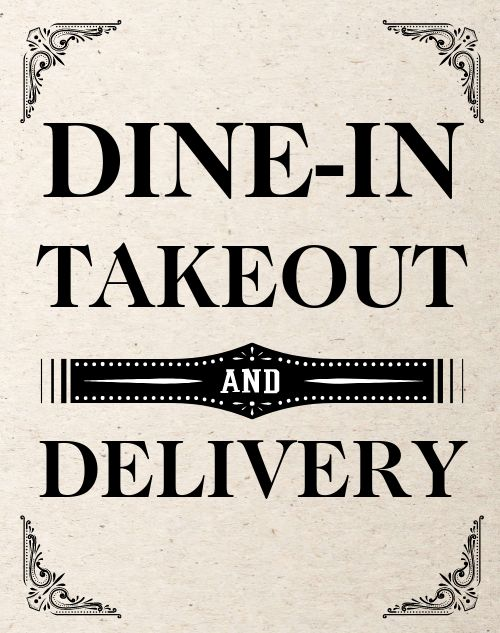 Delivery Sandwich Sign