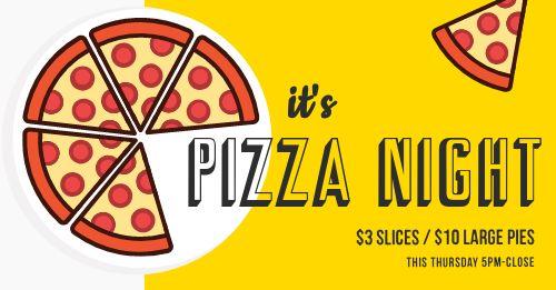 Pizza Night FB Post