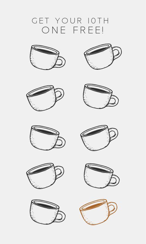 Coffee Member Card