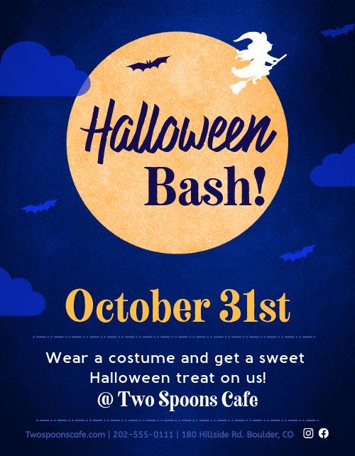 Halloween Announcement