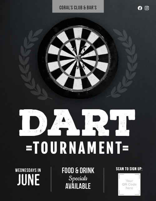 Dart Tournament Flyer