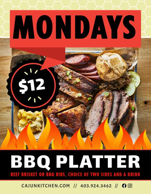 BBQ Specials Flyer