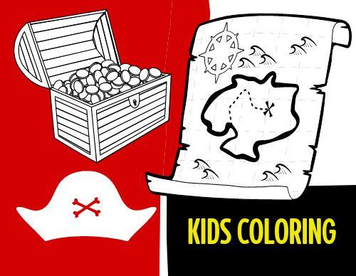 Pirate Children's Menu