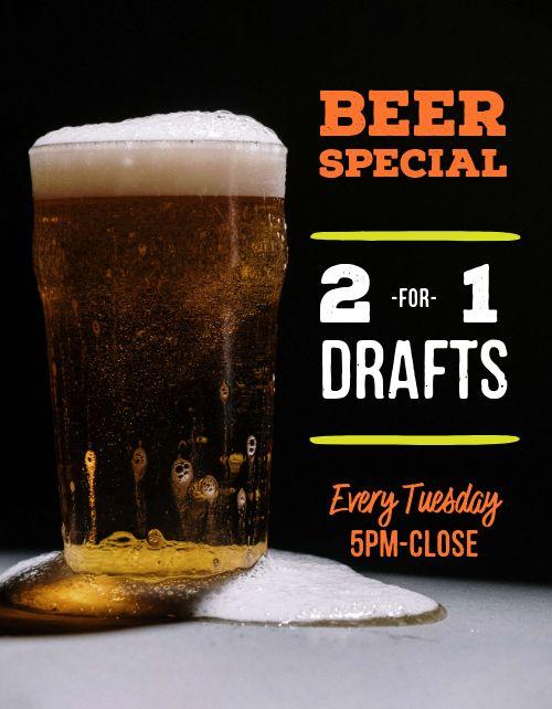 Beer Specials Announcement