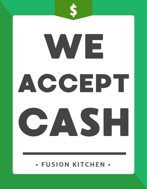 Cash Flyer