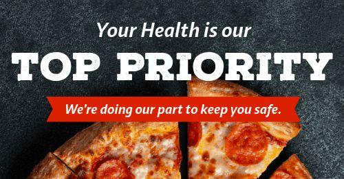 Restaurant Health Facebook Post