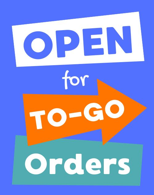 To Go Orders Poster