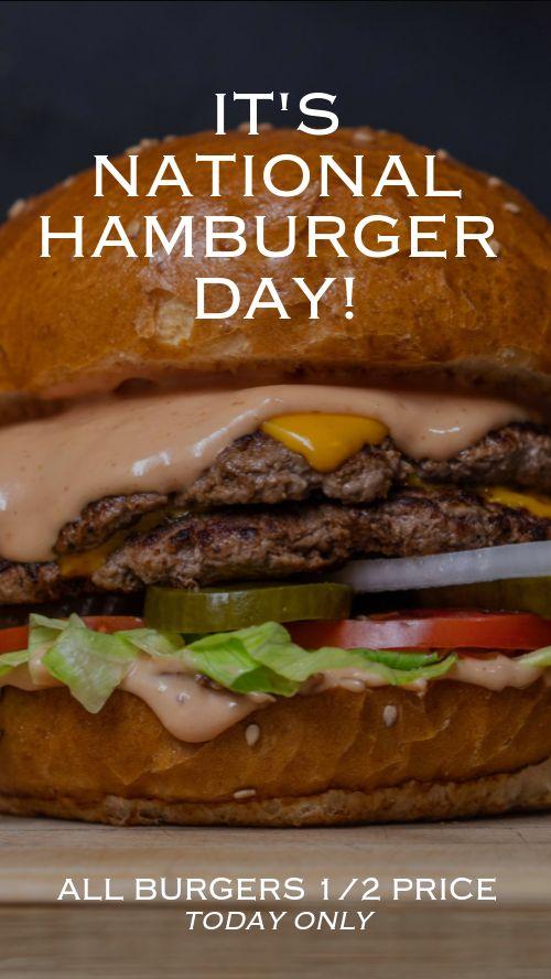 Hamburger Facebook Story