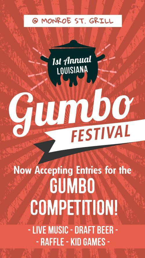 Gumbo Festival Facebook Story
