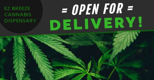 Dispensary Delivery Facebook Post
