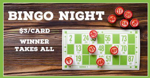 Bingo Night Facebook Post