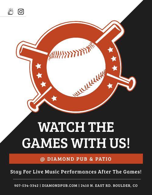 Baseball Announcement