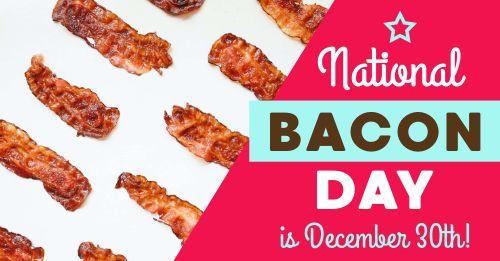 Bacon Day Facebook Post