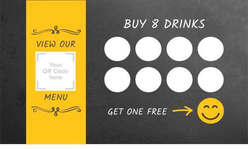 QR Code Rewards Card
