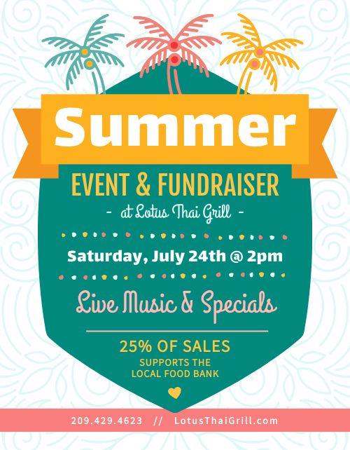 Summer Event Signage