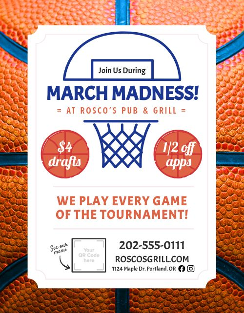 March Madness Announcement