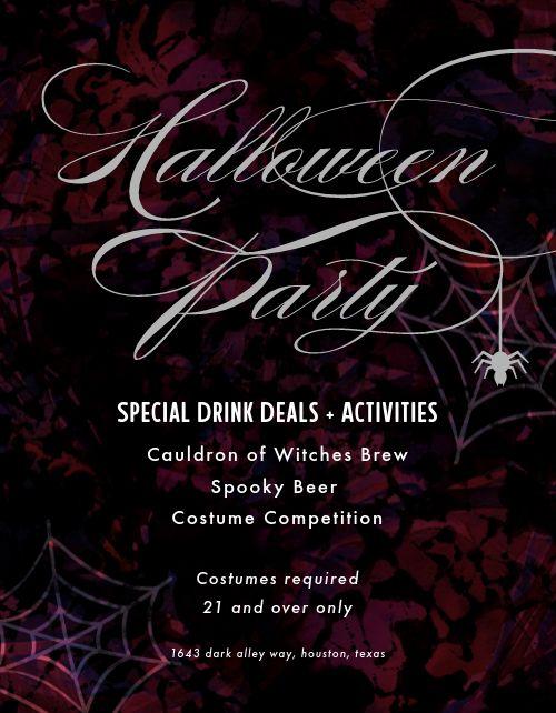 Halloween Promotion Flyer