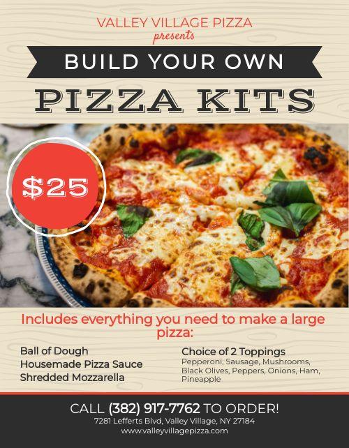 Pizza Kit Sign