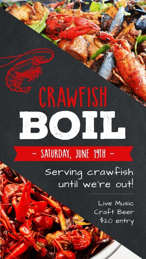 Crawfish Boil FB Story