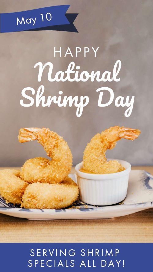 Shrimp Facebook Story