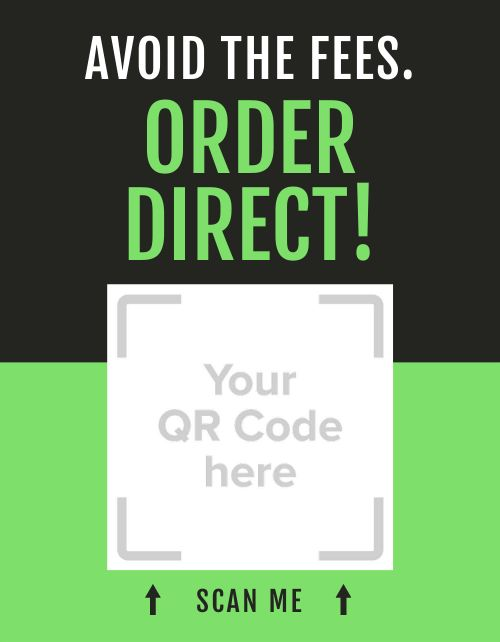 Avoid Fees Order Direct Signage