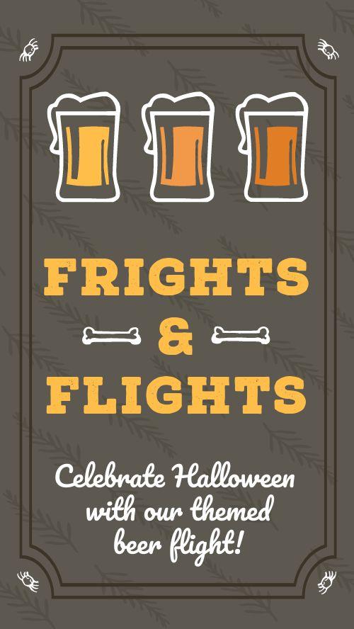 Halloween Brewery Facebook Story