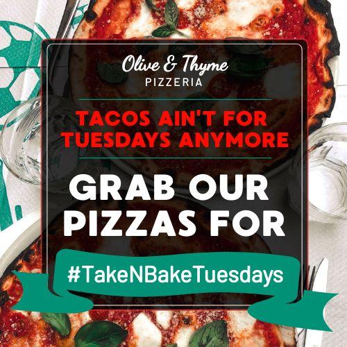 Pizza Tuesdays Instagram Post