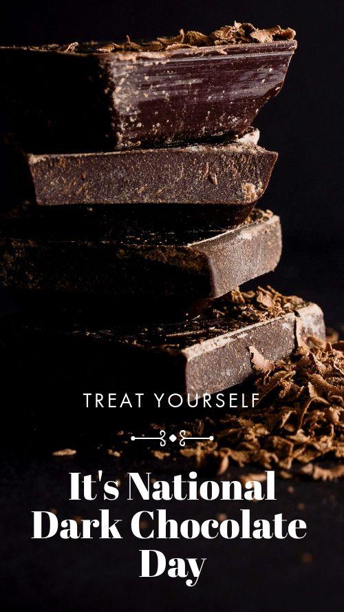 Dark Chocolate Day Facebook Story