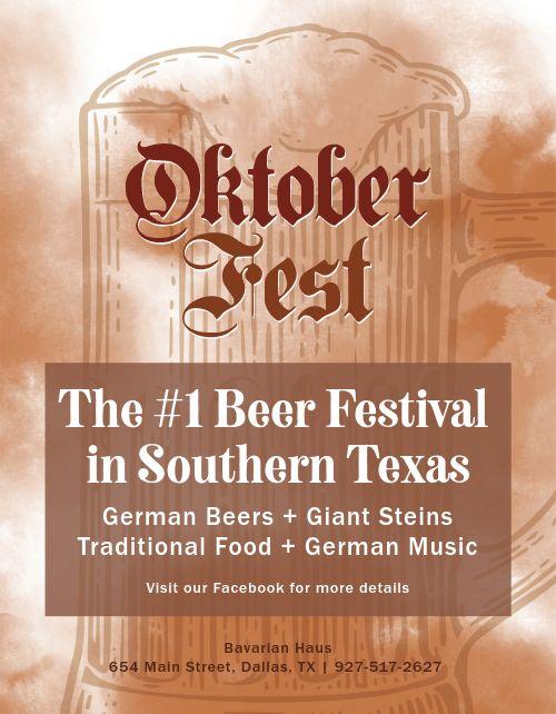 Oktoberfest Promo Flyer