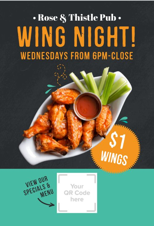 Wing Night Table Tent