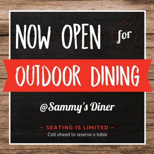 Outdoor Dining Instagram Update