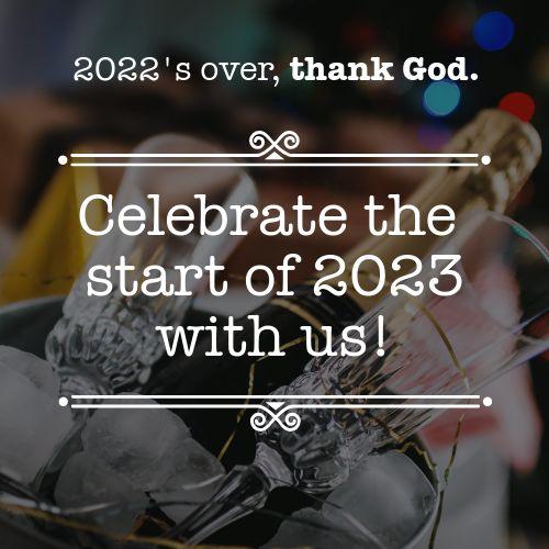 Celebrate New Year Instagram Post
