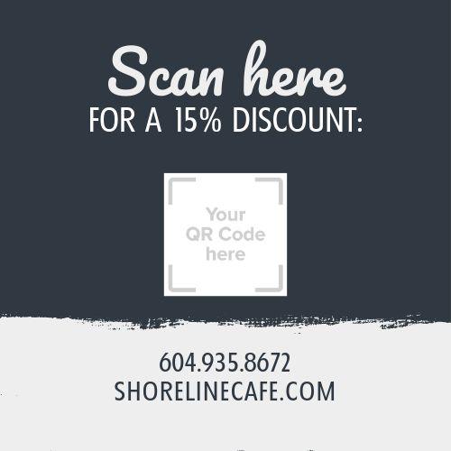 Cafe Promo Business Card