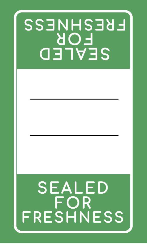 Freshness Safety Label