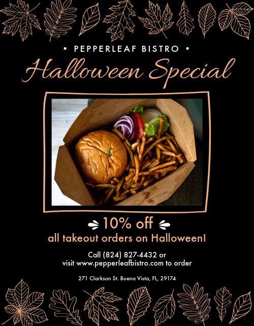 Halloween Specials Announcement