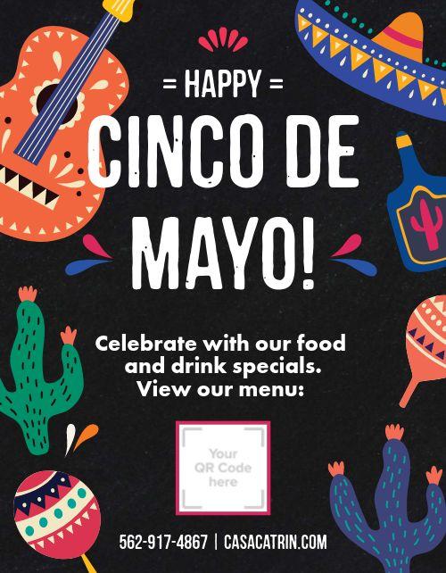 Happy Cinco De Mayo Sign