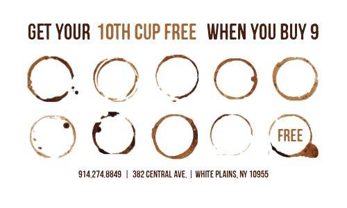 Coffee Club Loyalty Card