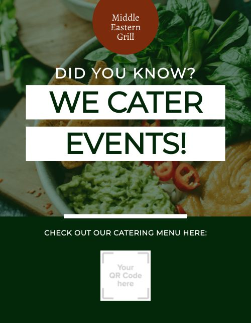 Event Catering Promo