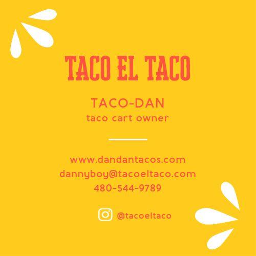 Taco Love Business Card