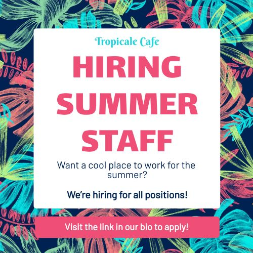 Summer Staff Instagram Post