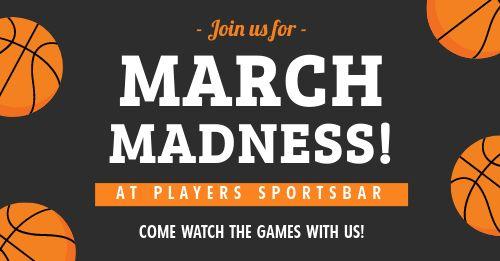 March Madness Facebook Update