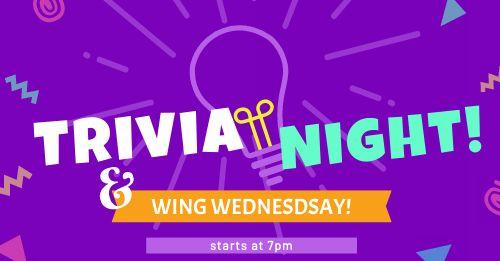 Trivia Night Facebook Post