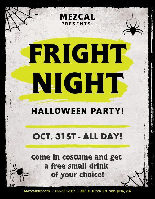 Halloween Signage
