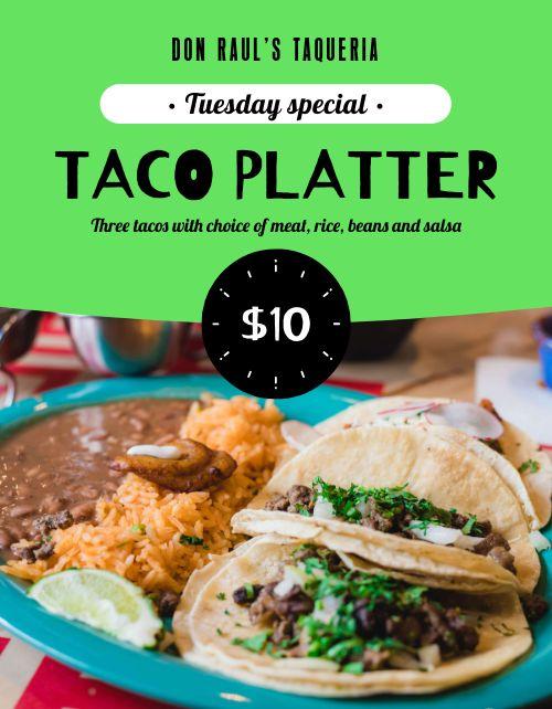 Taco Specials Flyer