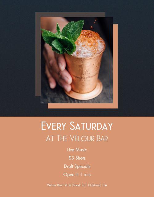 Bar Event Flyer